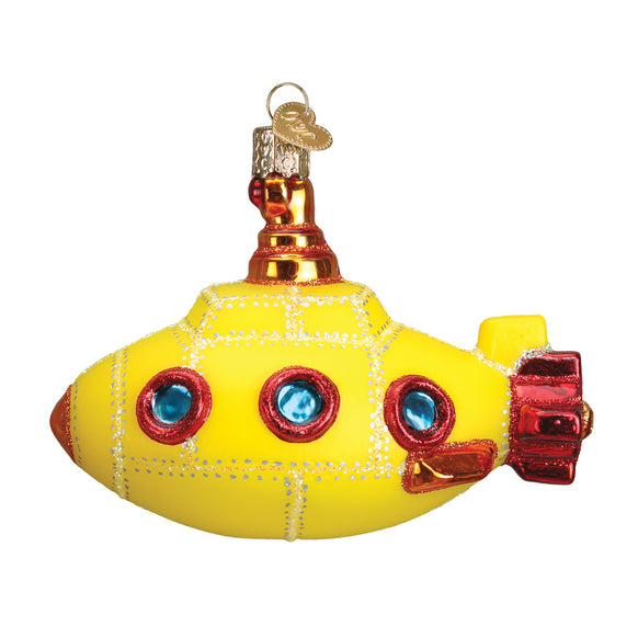 Groovy Submarine Ornament for Christmas Tree