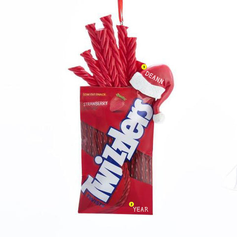 Twizzlers Christmas Tree Ornaments