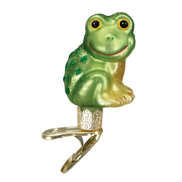 Happy Froggy Ornament for Christmas Tree