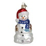 Happy Snowman Ornament for Christmas Tree