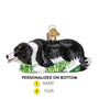 Herding Border Collie Ornament