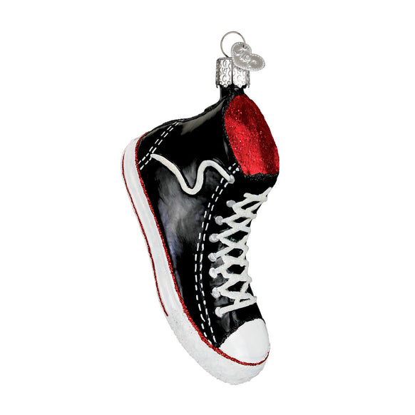 High Top Sneaker Ornament for Christmas Tree