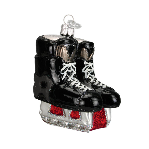 hockey skate ornament for christmas tree