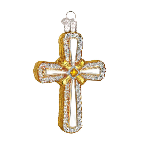Holy Cross Ornament for Christmas Tree