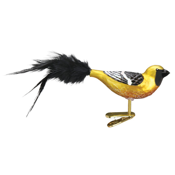 Hooded Oriole Ornament for Christmas Tree