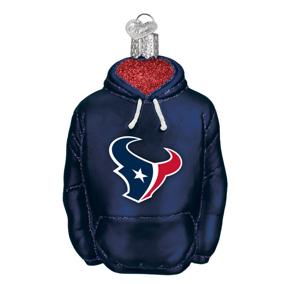 Houston Texans Hoodie Ornament for Christmas Tree