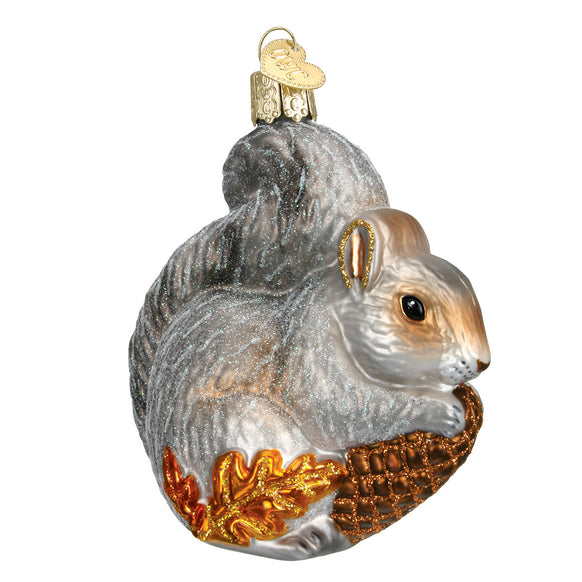 Hungry Squirrel Ornament for Christmas Tree