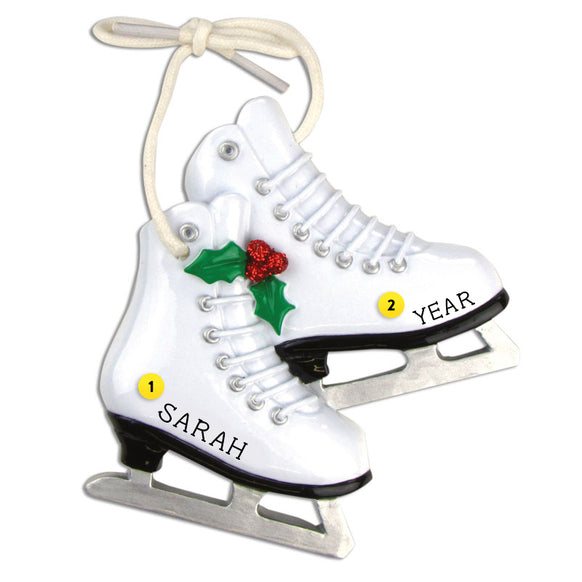 Ice Skates Ornament for Christmas Tree