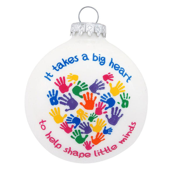It Takes A Big Heart Ornament for Christmas Tree