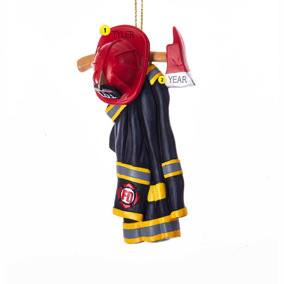 Firefighter Uniform Ornament