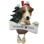 Jack Russell Dog Ornament for Christmas Tree
