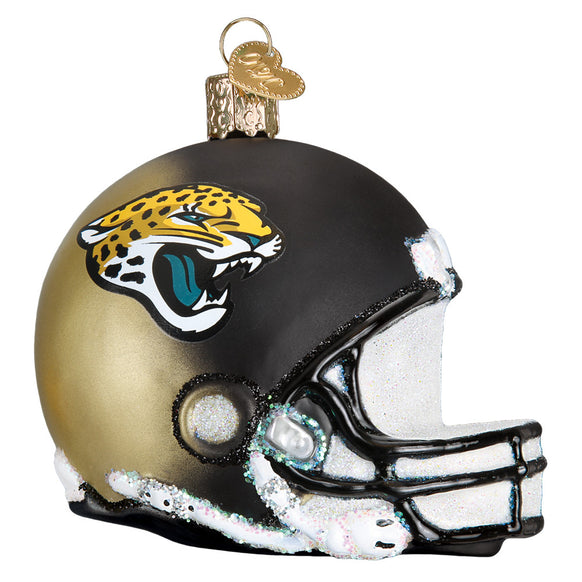 Jacksonville Jaguars Helmet Ornament for Christmas Tree