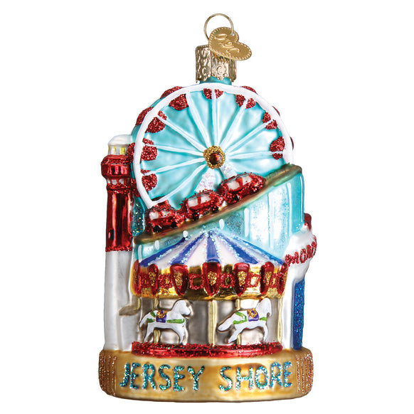 Jersey Shore Ornament for Christmas Tree