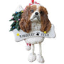 King Charles Cavalier Dog Ornament for Christmas Tree