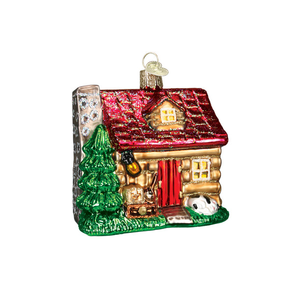 Lake Cabin Ornament for Christmas Tree