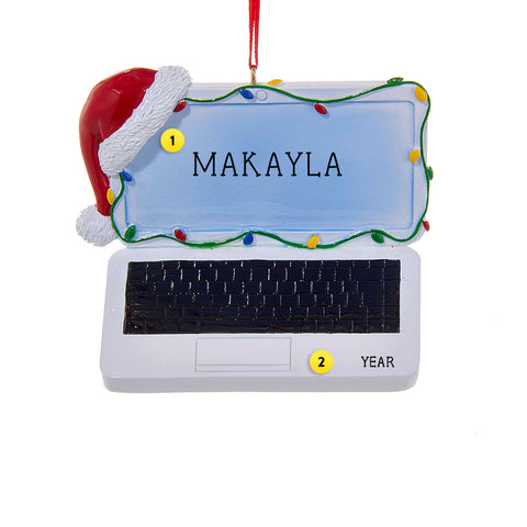 Laptop Computer Ornament for Christmas Tree