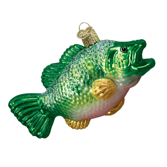 Largemouth Bass Ornament for Christmas Tree