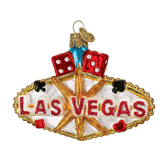Las Vegas Sign Ornament for Christmas Tree