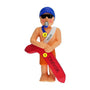 Lifeguard Ornament - Male Christmas Ornament