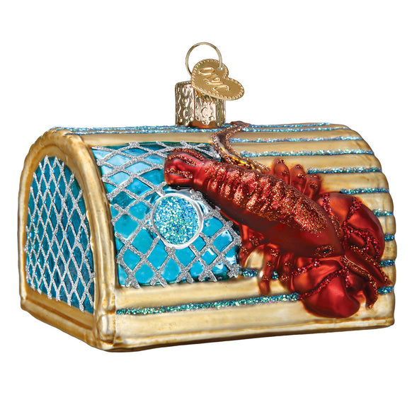 Lobster Trap Ornament for Christmas Tree
