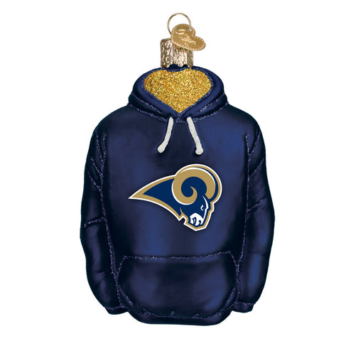 Los Angeles Rams Hoodie Ornament for Christmas Tree