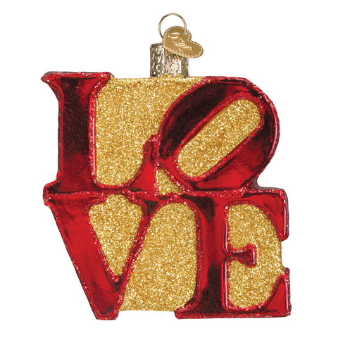 Love Ornament for Christmas Tree