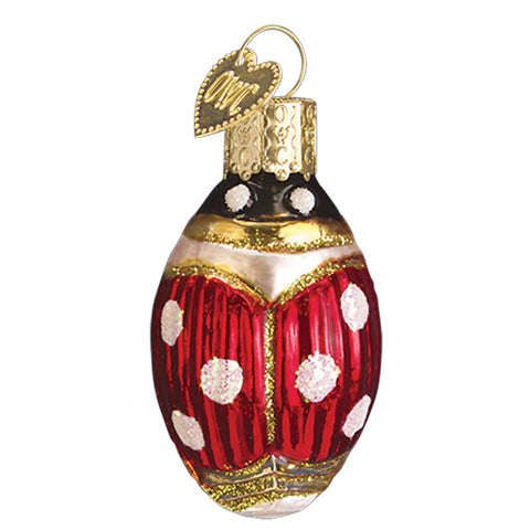 Lucky Ladybug Ornament for Christmas Tree