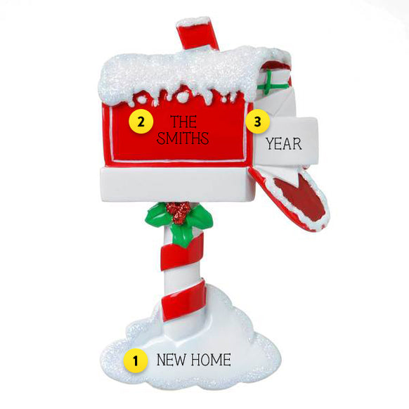 Christmas Mailbox Ornament