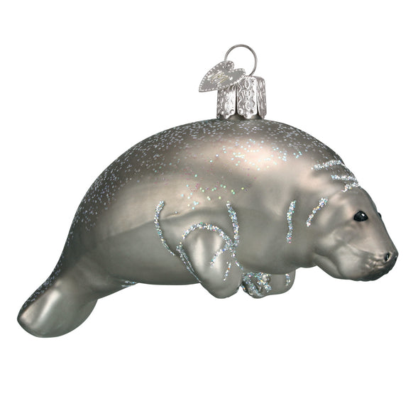 Manatee Ornament for Christmas Tree