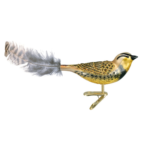 Meadowlark Ornament for Christmas Tree