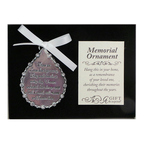 Memorial Ornament for Christmas Tree