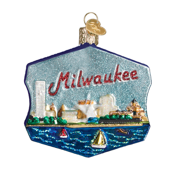 Milwaukee Ornament for Christmas Tree