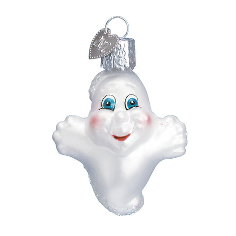 Miniature Ghost Ornament for Christmas Tree