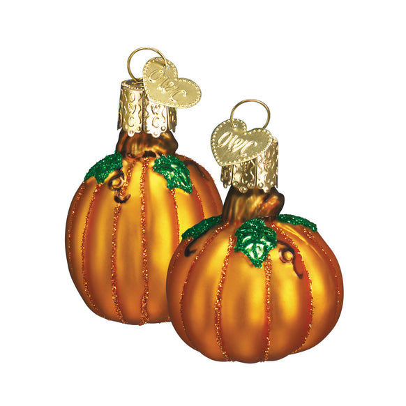 Miniature Pumpkin Ornament