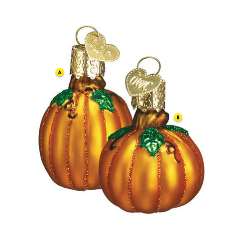 Mini Pumpkin Christmas Ornaments Please Choose One