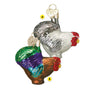 Miniature Rooster Christmas Ornament 2 Assorted Please Choose One