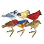 Mini Songbird Christmas Ornaments 6 Assorted Please choose one