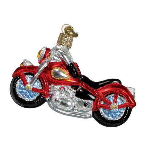 Motorcycle Ornament for Christmas Tree