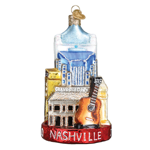 Nashville Ornament for Christmas Tree