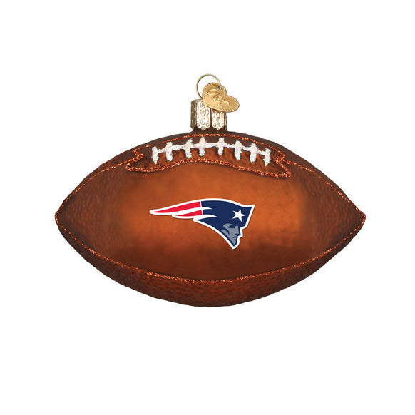 New England Patriots Football Ornament for Christmas Tree