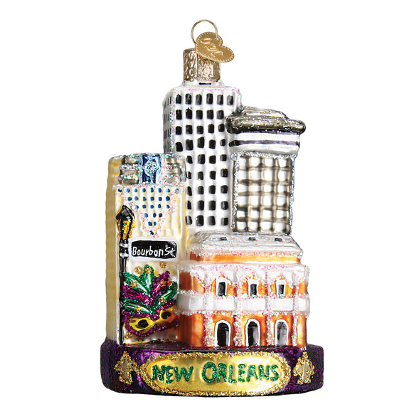 New Orleans Ornament for Christmas Tree