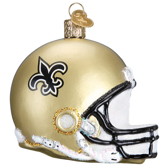 New Orleans Saints Helmet Ornament for Christmas Tree