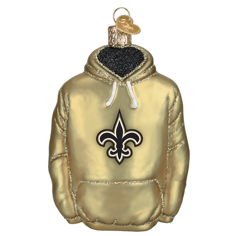 New Orleans Saints Hoodie Ornament for Christmas Tree