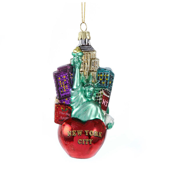 New York Cityscape Ornament for Christmas Tree
