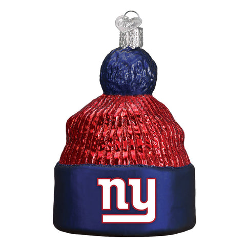 New York Giants Beanie Ornament for Christmas Tree