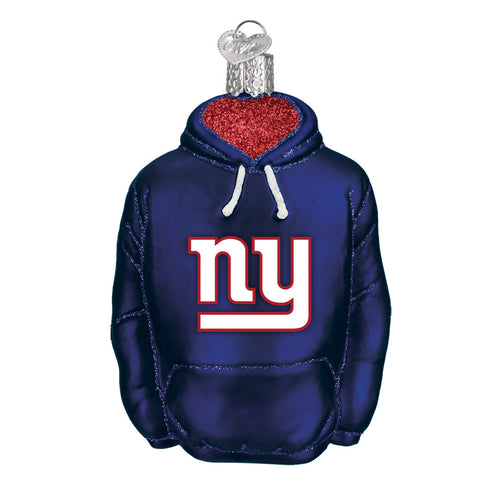 New York Giants Hoodie Ornament for Christmas Tree