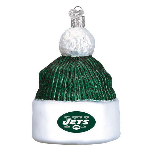 New York Jets Beanie Ornament for Christmas Tree