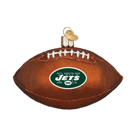 New York Jets Football Ornament for Christmas Tree