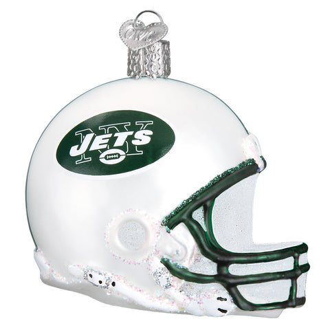 New York Jets Helmet Ornament for Christmas Tree