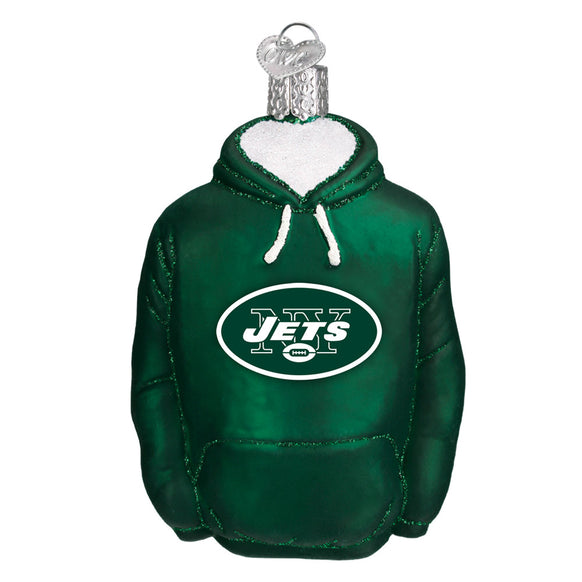 New York Jets Hoodie Ornament for Christmas Tree